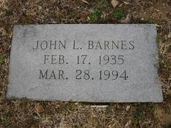 John L Barnes, Jr