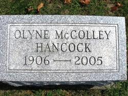 Alice Olyne <I>Hershman</I> Hancock
