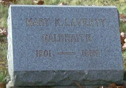 Mary K. <I>Laverty</I> Galbraith