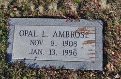 Opal Evelyn <I>Lilley</I> Ambrose