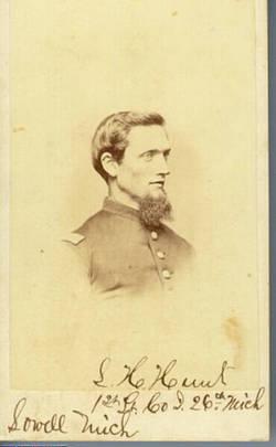 Capt Leonard H Hunt