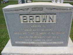 Ellen Rebecca <I>Wagaman</I> Brown