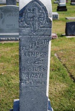 Elizabeth <I>Willins</I> Kemper