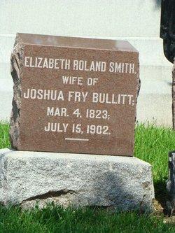 Elizabeth Roland <I>Smith</I> Bullitt