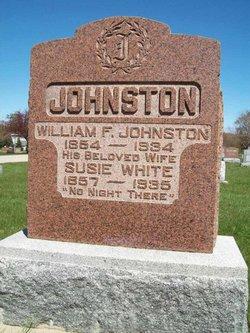 Susan <I>White</I> Johnston