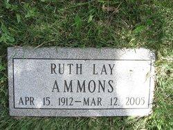 Ruth Myrtle <I>Lay</I> Ammons