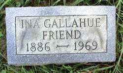 Ina <I>Gallahue</I> Friend