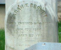 Sarah Trebell <I>Galt</I> Browne