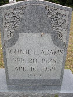 Johnie Lincoln Adams