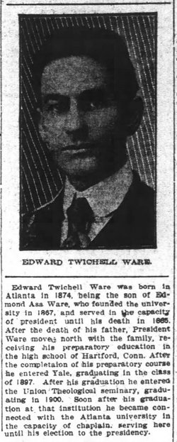 Rev Edward Twichell Ware