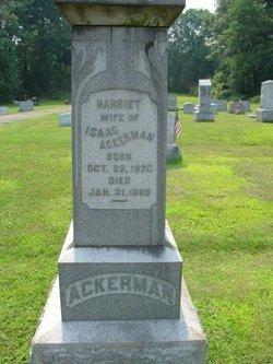 Harriet <I>Rutt</I> Ackerman