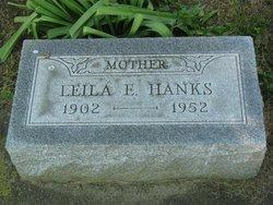 Leila Ethel <I>Yates</I> Hanks