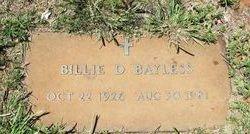 Billie Dean <I>Briscoe</I> Bayless