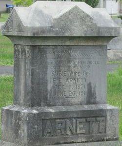 Susie <I>Collins</I> Arnett