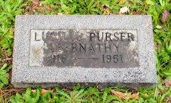 Lucille <I>Purser</I> Abernathy