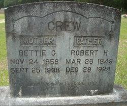 "Elizabeth ""Bettie"" <I>Gilcrease</I> Crew"