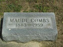 Maude <I>Connelly</I> Combs