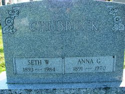 Anna Gertrude <I>Crawford</I> Chubbuck