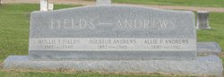 "Agustus ""Gus"" Andrews"