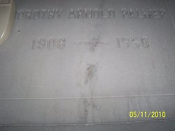 Martha Dorothy <I>Arnold</I> Palmer