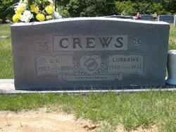 Agnes Lorraine <I>Jones</I> Crews