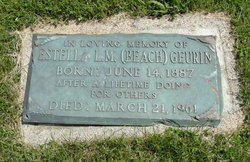 Estella L. M. <I>Beach</I> Geurin