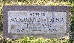 Marguerite Virginia <I>Miller</I> Cleveland