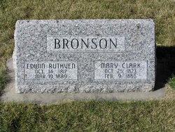 Mary <I>Clark</I> Bronson