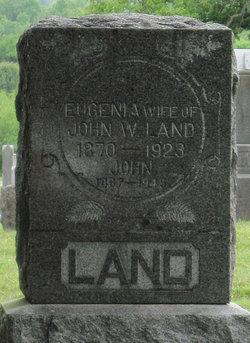 """Hulda """"Eugenia"""" <I>Stanley</I> Land"""