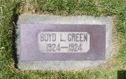 Boyd Lamar Green