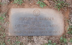 Joseph Ben Barber