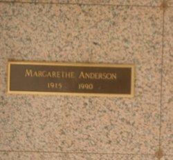 Margarethe <I>Meyer</I> Anderson