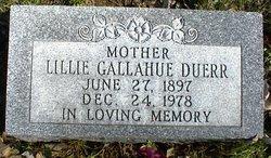 Lillie <I>Gallahue</I> Duerr