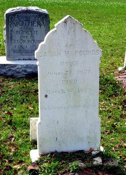 "Sarah Matilda ""Mary"" <I>Keller</I> Pounds"
