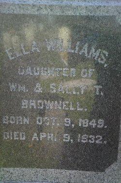 Ella <I>Williams</I> Brownell
