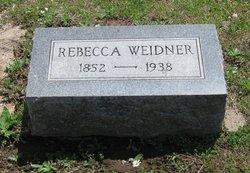 Rebecca Jane <I>Perkins</I> Weidner