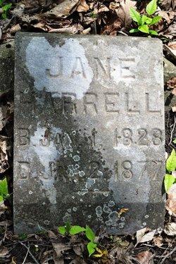 Jane <I>Scott</I> Harrell