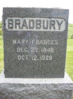 Mary Frances <I>Ellison</I> Bradbury