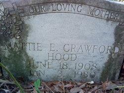 Mattie E <I>Crawford</I> Hood