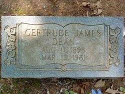 Gertrude James Dean