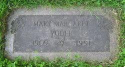 Mary Margaret <I>Gardner</I> Yoder