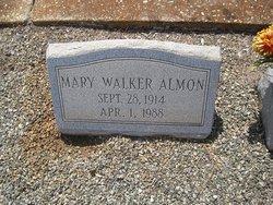Mary <I>Walker</I> Almon
