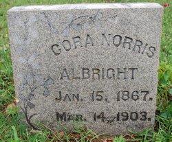 Cora <I>Norris</I> Albright