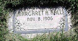 """Margaret Adeline """"Lee"""" <I>Oakes</I> Hall"""