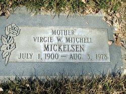 Virgie <I>White</I> Mickelsen