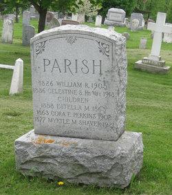 Celestine S. <I>Glass</I> Parish
