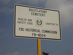 Routt Point Cemetery