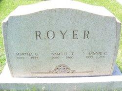 Martha Grace <I>Pryor</I> Royer