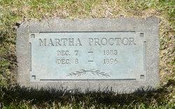 """Martha Ann """"Mattie"""" Proctor"""