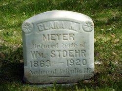 Clara M <I>Meyer</I> Stoehr